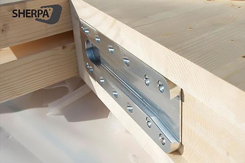 اتصالات مخصوص چوب شرپا